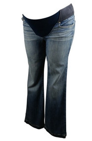 Blue GAP Maternity Boot Cut Long & Lean Maternity Jeans (Gently Used - Size 30)