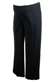 Navy Mimi Maternity Career Dressy Pants (Gently Used - Size Medium)