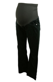 Black AG by Adriano Goldschmied for A Pea in the Pod Maternity Corduroy The Angel Bootcut Pants (Like New - Size 30)