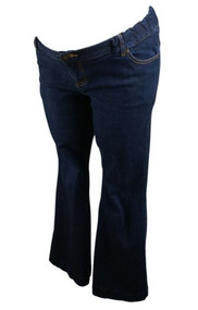 Navy Liz Lange Maternity for Target Boot Cut Jeans (Gently Used - Size 12)