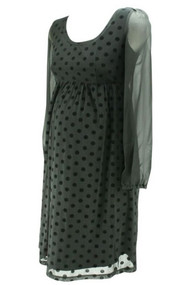 *New* Black Jojo Maman Bebe Long Sleeve Maternity Special Occasion Dress (Like New - Size 10)