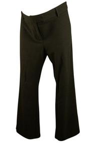 Blackish Gray Mimi Maternity Career Pants (Gently Used - Size Medium Short)