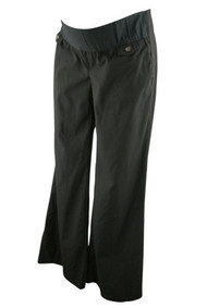 Black GAP Maternity Hip Slug Fit Career Pants (Gently Used - Size 8 Long)