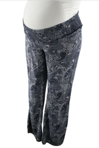 d4be716f6b7e6 Paisely Jessica Simpson Maternity Pants (Gently Used - Size Large ...