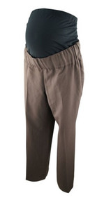 Brown Suits Your Belly Career Pants (Like New - Size Medium)