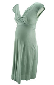 Mint Green Tiffany Rose Maternity Special Occasion Dress (Like New - Size 1)
