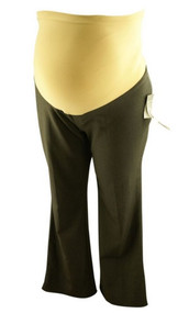 *New* Dark Gray Oh Baby! by Motherhood Maternity Career Pants (Size Large)