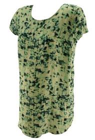 Floral Grunge Liz Lange Maternity for Target Maternity Tunic (Lie New - Size Medium)