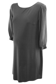 Black Mimi Maternity Special Occasion Maternity Dress (Gently Used - Size Large)