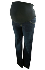 Navy Hudson Maternity Jeans for A Pea in the Pod Collection (Like New - Size X-Large)