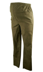 Medium Gray In Due Time Maternity Drawstring Straight Leg Maternity Pants (Gently Used - Size Small)