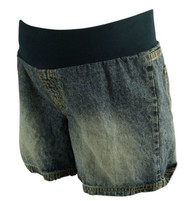 Unknown Maternity Denim Shorts for Spring or Summer (Gently Used - Size Medium)