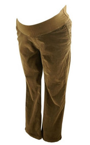 Chocolate GAP Maternity Corduroy Maternity Pants (Gently Used - Size 14)