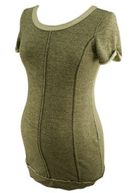 Gray A Pea in the Pod Maternity Casual Maternity Sweater Top (Like New - Size Small)