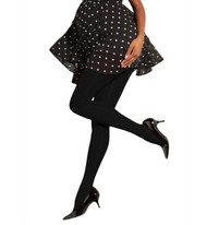*New* Black Preggers Maternity Opaque Maternity by Therafirm Tights 10-15 mmHg (Size Small)
