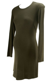 *New* Black T-Shirt Shift Maternity Dress by BCBG Maxazaria Matenity for A Pea in the Pod (Size Small)