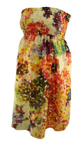 Rosie Pope Maternity Strapless Summer Dress (Like New - Size Small)