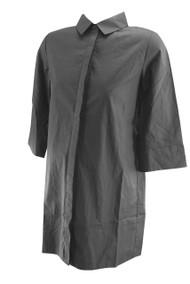*New* Black 3/4 Sleeves Madeleine Maternity Shirt Dress (Size Small)
