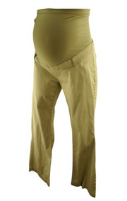 Khaki Motherhood Maternity Casual Maternity Pants (Gently Used - Size Medium)