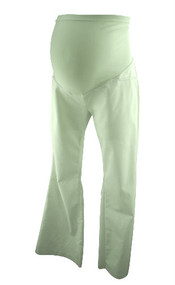 White Casual A Pea in the Pod Maternity Pants (Gently Used - Size Medium)