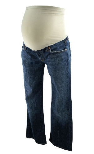 bdfdb4d6b1498 ... 7 For All Mankind Maternity Jeans Boot Cut for A Pea in the Pod  Collection (Gently Used - Size 29). Image 1