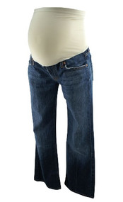 7 For All Mankind Maternity Jeans Boot Cut for A Pea in the Pod Collection (Gently Used - Size 29)