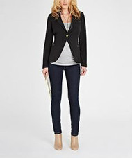 Black Isabella Oliver Maternity Cavier Ruby Tailored Black Jacket (Like New - Size 4/ 10US)