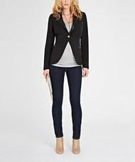 Black Isabella Oliver Maternity Cavier Ruby Tailored Black Jacket (Like New - Size 4/ 10US)