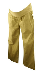 *New* GAP Maternity Khaki by GAP Maternity Wide Leg Maternity Pants (Size 6)