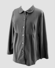 Black Motherhood Maternity Peter Pan Collar Blazer (Gently Used - Size X-Large)
