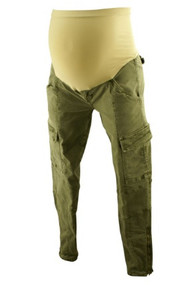 Army Green J Brand for A Pea in the Pod Maternity Collection Maternity Pants (Like New - Size Medium)
