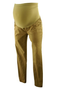 Beige A Pea in the Pod Maternity Skinny Full Panel Maternity Pants (Gently Used - Size Medium)