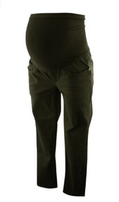 Black A Pea in the Pod Maternity Cropped Maternity Pants (Gently Used - Size Small)