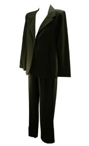 *New* Black Olian Maternity Career Suit: Maternity Pants & Maternity Blazer (Size Large)