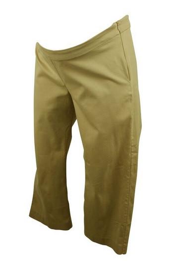 3e6e28f8289 Beige Mimi Maternity Capri Maternity Pants (Gently Used - Size ...