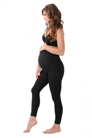 Black Belly Bandit BDA Maternity Leggings (Like New - Size Medium)