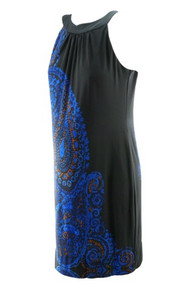Paisley Print Just... Taylor Maternity Special Occasion Maternity Dress (Like New - Size Small)