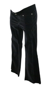 Black Naissance on Melrose Maternity Velour Pants (Like New - Size Large)