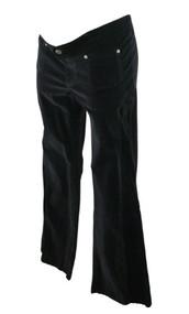Black Naissance on Melrose Maternity Velour Pants (Like New - Size Large)