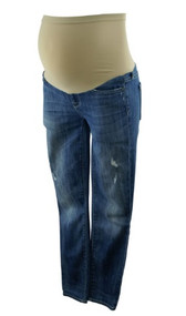 Blue Distressed A Pea in the Pod Collection and Vince Maternity Jeans (Like New - Size X-Small)