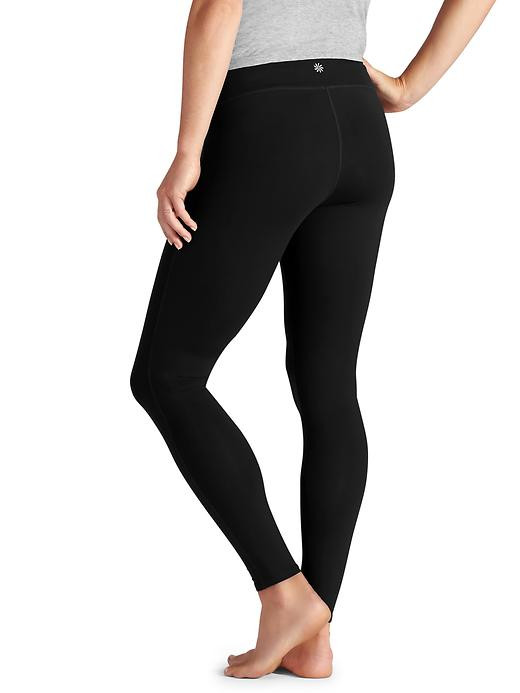 2608ff859ec03 ... Black Athleta Maternity Low Belly Chaturanga™ Tight Maternity Leggings ( Size-XX-Small). Image 1