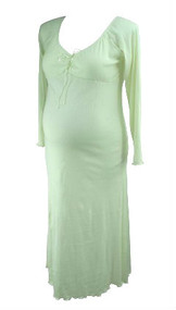 *New* Cream Nicole Michelle Maternity Long Sleeve Ribbed Maxi Dress (Size XX-Large)