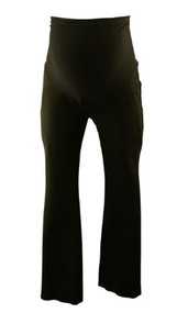 Black A Pea in the Pod Maternity Full Panel Maternity Career Pants (Gently Used - Size Small Short)