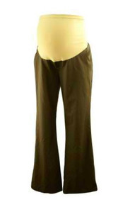 Coffee Brown A Pea in the Pod Maternity Career Pants (Like New - Size Medium)
