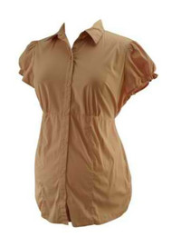 Baby Pink Motherhood Maternity Baby Doll Maternity Top (Like New - Size Medium)