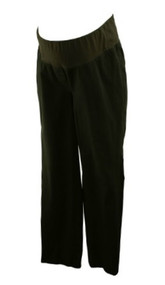 Black Loft Maternity Khaki Material Pants (Gently Used - Size 10M)