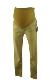 *New* Sand Adriano Goldschmeid Maternity Supper Skinny Ankle Jeggings (Size 30R)