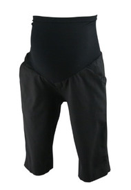 Black A Pea in the Pod Collection Maternity, Vince Maternity Full Panel Maternity Dressy Shorts (Gently Used - Size 8)