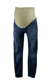 Medium Wash A Pea in the Pod Collection Maternity Verdugo Ankle Full Panel Cropped Maternity Skinny Jeans (Gently Used - Size 30)