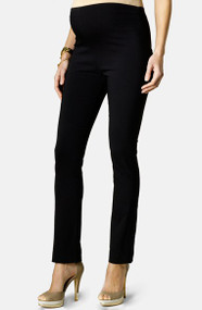 *New* Black Adriano Goldschmied For A Pea In The Pod Collection Maternity Corduroy  The Legging  Super Skinny Fit Pants